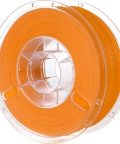 Orange PLA filament PolyLite