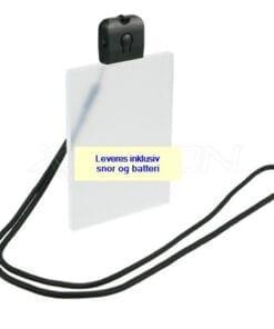 Key hanger med lys